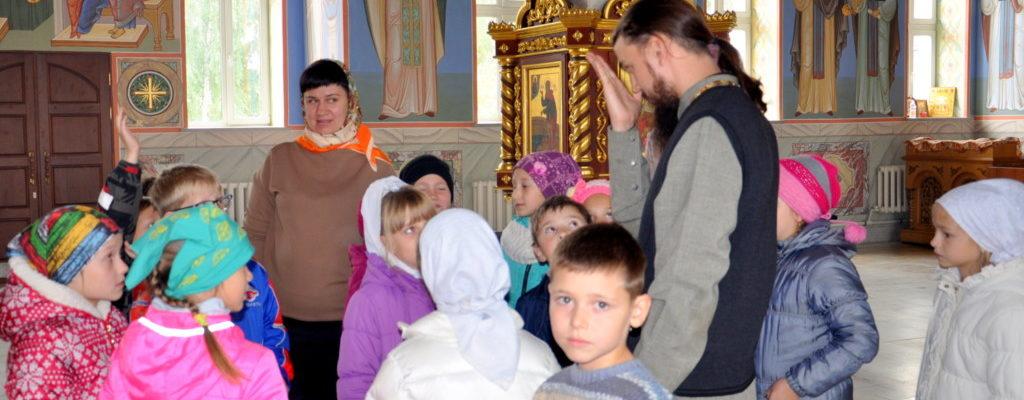 Ознакомительная экскурсия по Успенскому кафедральному собору г. Салават