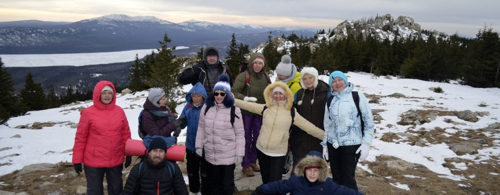 Директор Воскресной школы собора в команде Салаватской епархии приняла участие в туристическом походе «Зимняя сказка»